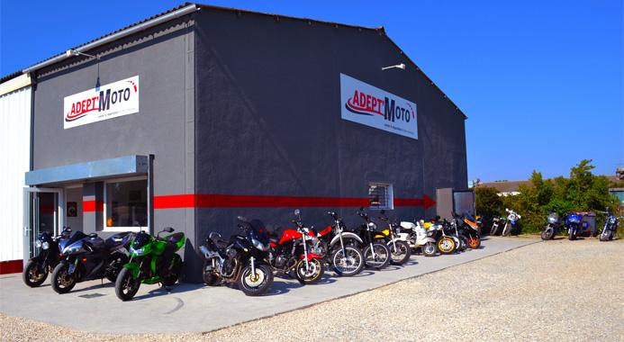 Adep't Moto, votre Garage de Moto sur Pertuis.