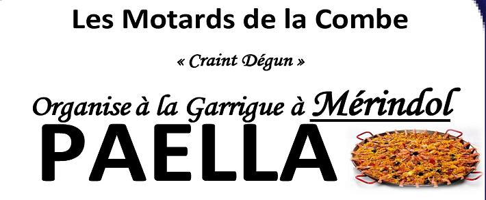 dimanche 07 juin 2015 : Balade moto + paella
