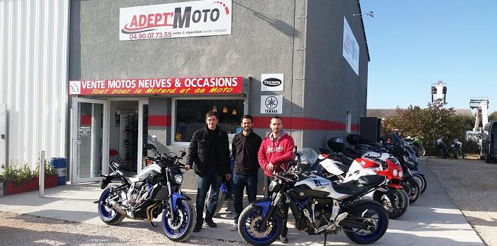 Livraison Moto Yamaha MT 07 ABS