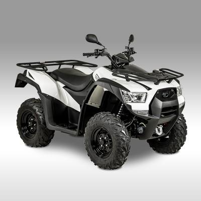 Quad blanc 700